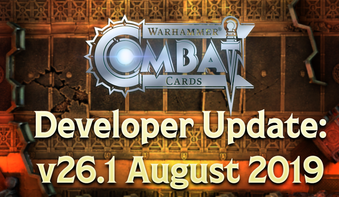 Developer Update: v26.1