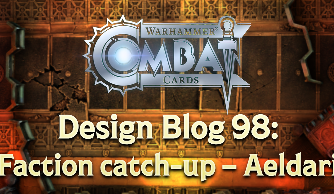 Design Blog 98: Faction catch-up – Aeldari