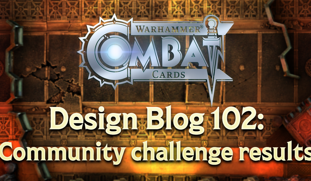 Design Blog 102: Community challenge results