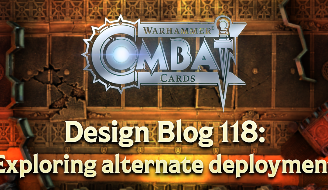 Design Blog 118: Exploring alternate deployment