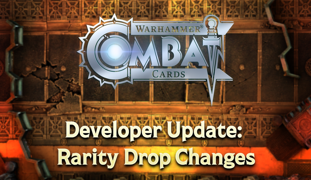Developer Update: Rarity Drop Changes