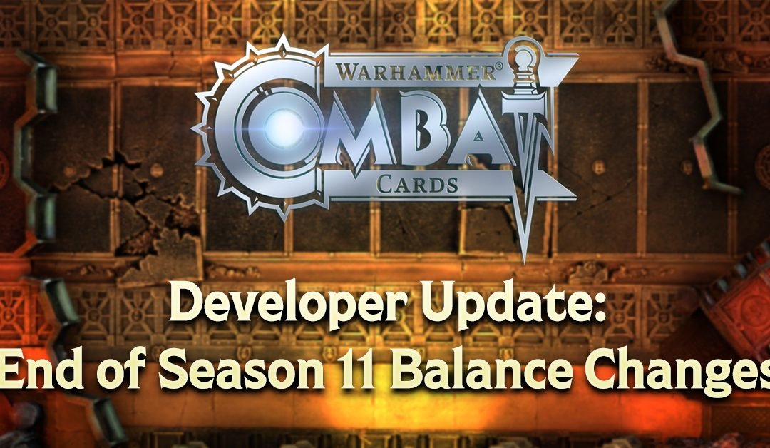 Developer Update: End of Season 11 Balance Changes