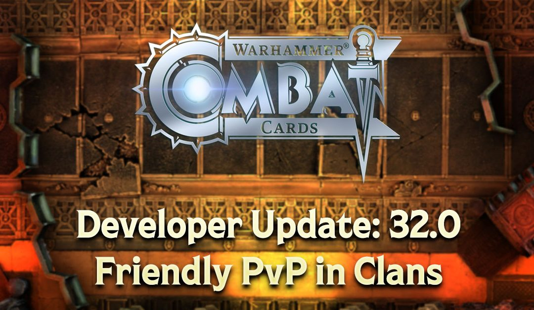 Developer Update: v32.0 – Friendly PvP