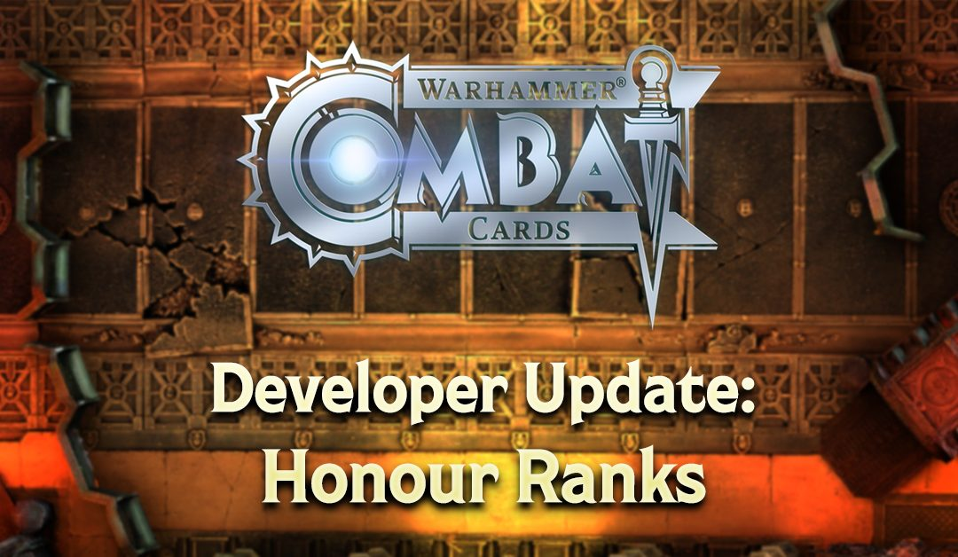 Developer Update: Honour Ranks