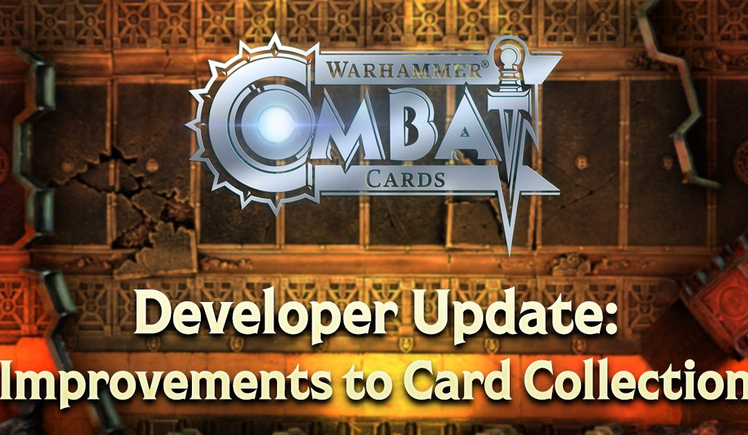 Developer Update: Improvements to Card Collecting